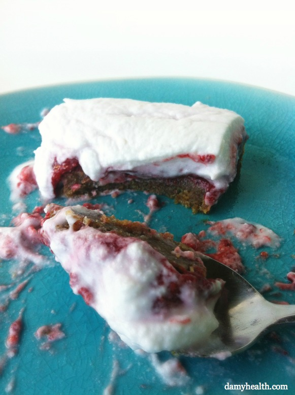 Raspberry Super Food Short Cake