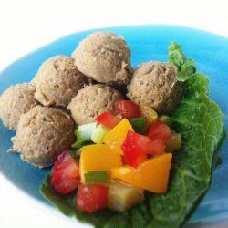 Raw Vegan Falafel