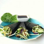 Raw Vegetable Nori Wrap