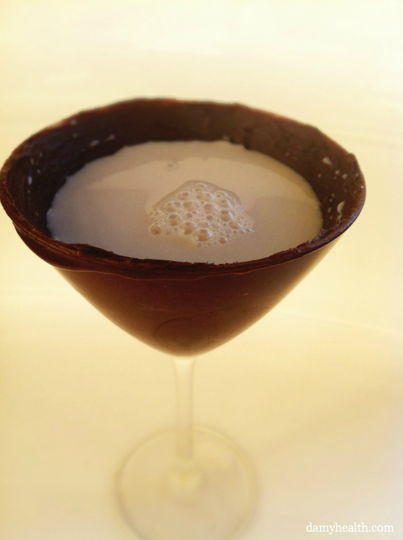 Chocolate Martini Glass
