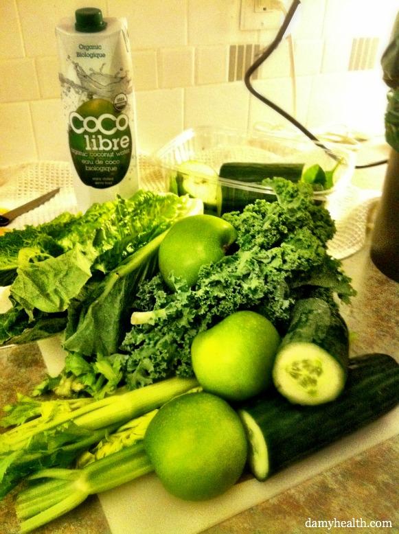 Green Juice Supplies