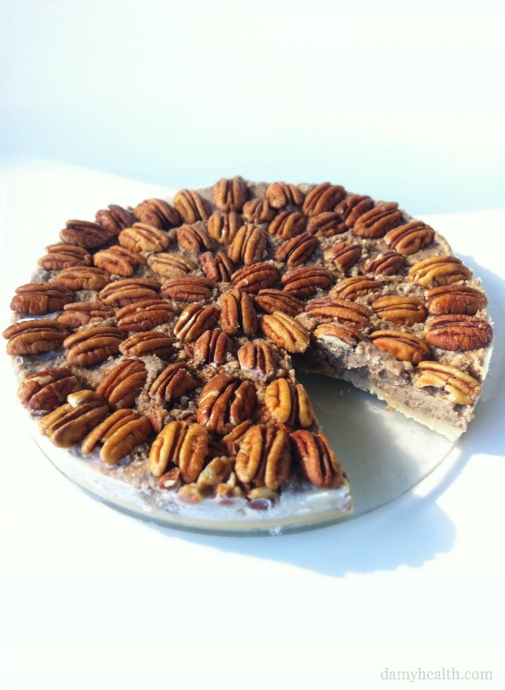 No-bake Pecan Pie
