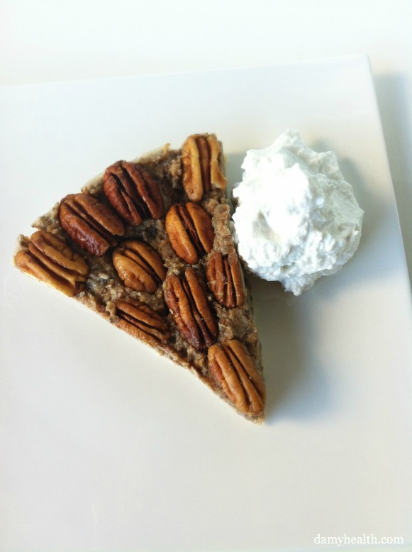The best healthy pecan pie