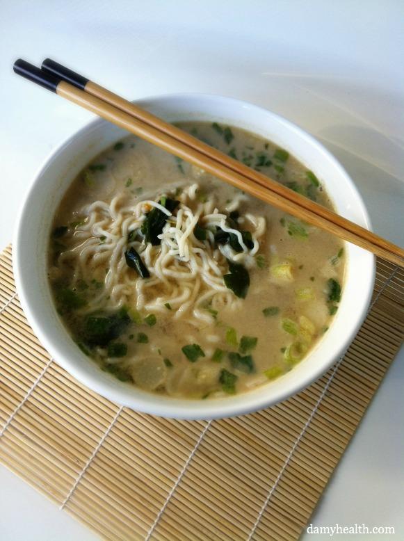 guilt-free Instant noodles