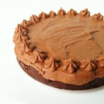 Raw Chocolate Brownie Mousse Pie