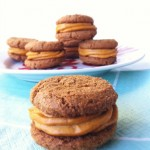 Ginger Snap Cookies with Pumpkin Cheesecake Buttercream (Vegan)