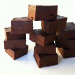 Nutella Freezer Fudge (Vegan & GF)