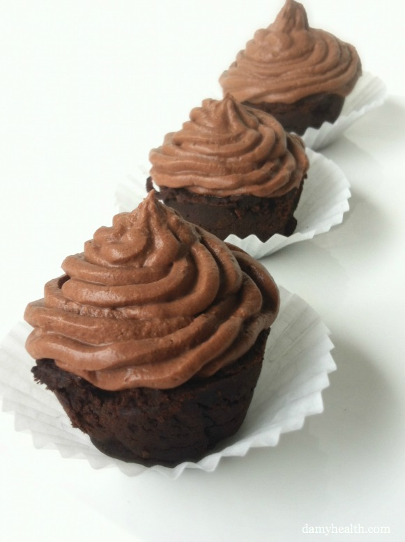 chocolate mousse cupcakes