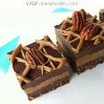 Raw Salted Chocolate Pecan Pie Brownies