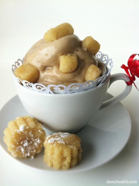 Raw Vegan Sugar Cookie Blizzard