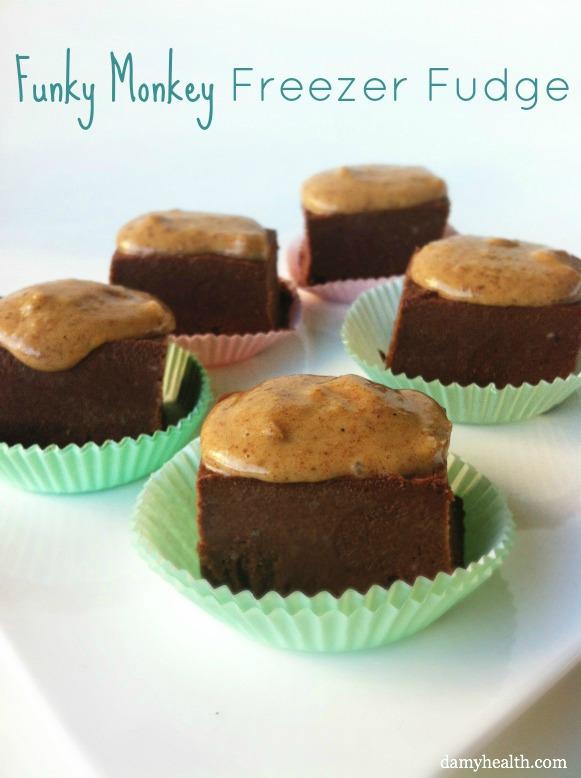 Healthy Chocolate Freezer Fudge