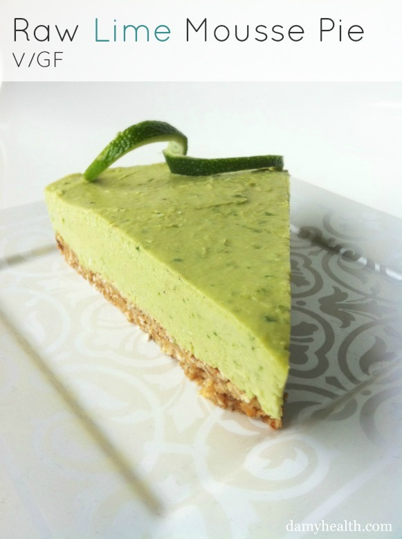 Clean-Eating-Lime-Mousse-Pie