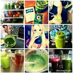 DAMY Green Juice Collage2