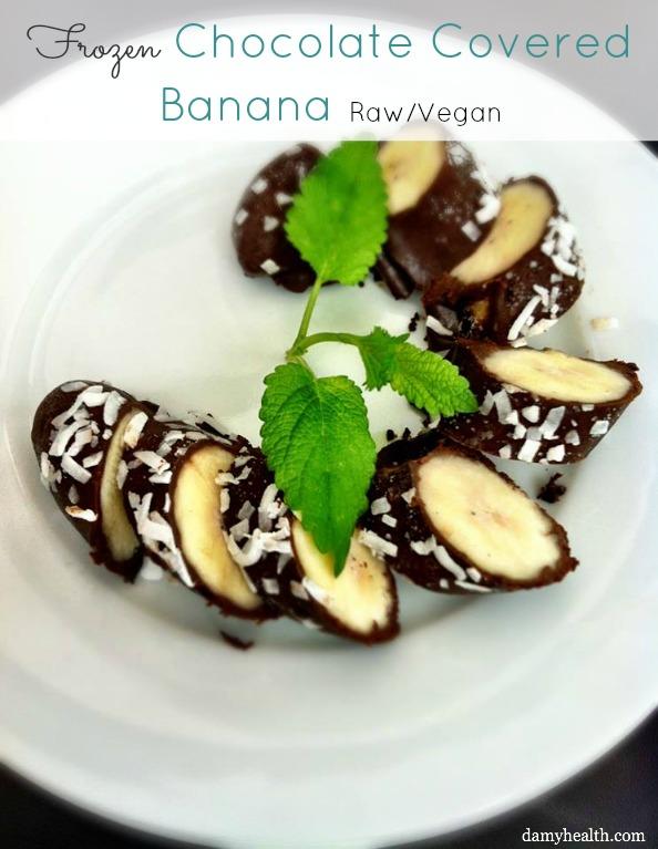 Frozen Chocolate Covered Banana