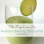 The Key Lime Pie Radiant Beauty Smoothie (Vegan, Gluten Free, Raw)