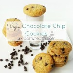 Vegan Chocolate Chip Cookies (GF)