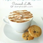 Vegan Pumpkin Spice Caramel Latte