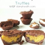 Cookie Dough Filled Chocolate Truffles
