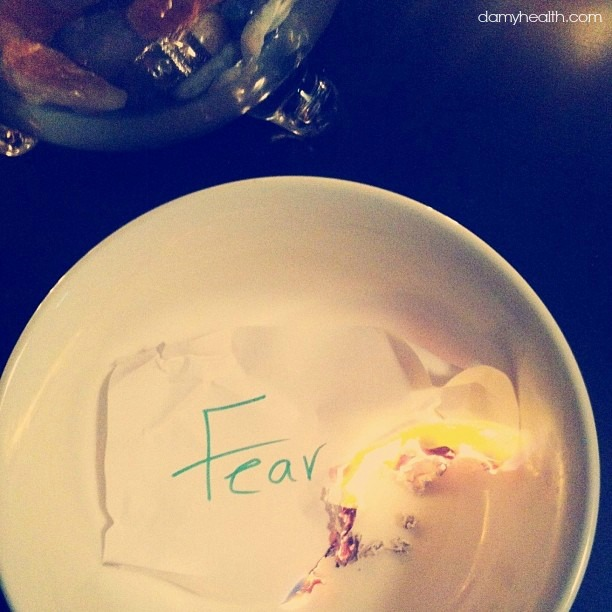 Set Your Fears on Fire – Take what you need