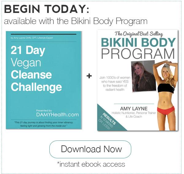 21 Day Vegan Cleanse Plus the Bikini Body Program
