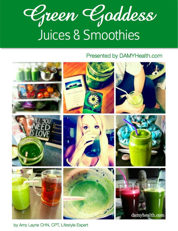 Green Goddess Juices and Smoothies Cover
