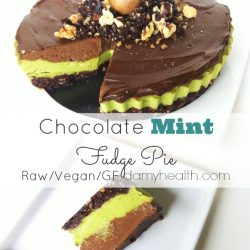 Chocolate Mint Fudge Pie1