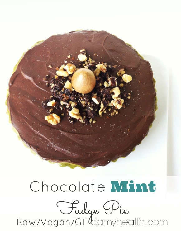 Healthy Chocolate Mint PIe1