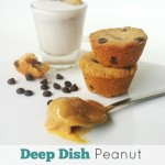 Deep Dish Peanut Butter Chocolate Chip Cookies (Vegan/Gluten Free)