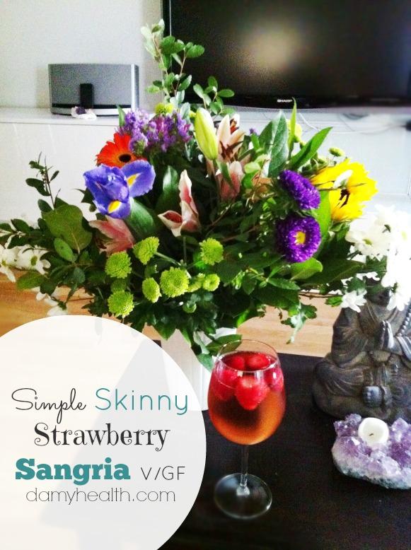 Fast Skinny Strawberry Sangria1