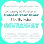 Unleash Your Inner Healthy Rebel Giveaway