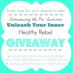 Unleash Your Inner Healthy Rebel Giveaway