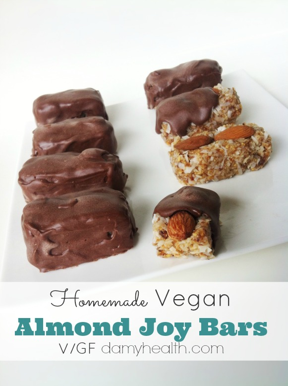 Homemade Almond Joy Chocolate Bars1