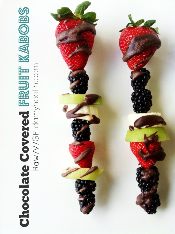 raw vegan chocolate covered fruit kabobs1
