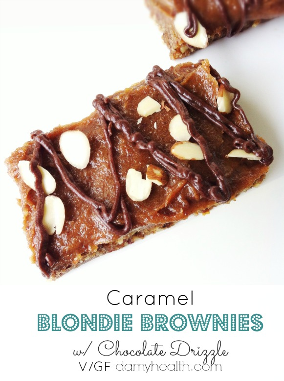 vegan blondie brownies1