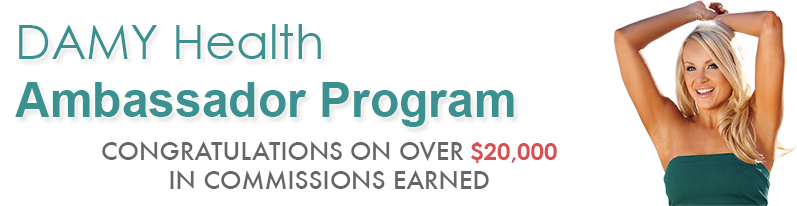 The DAMY Ambassador Program - Earn money helping people lose weight