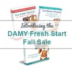 DAMY Fresh Start Fall Sale 2014 (20% OFF DAMY PROGRAMS)