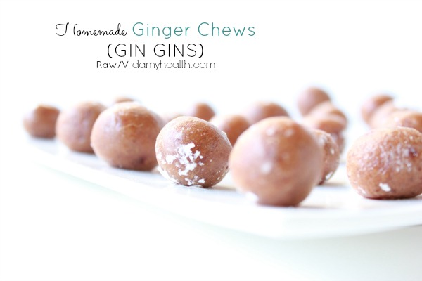 Homemade Ginger Chews (GIN GINS)