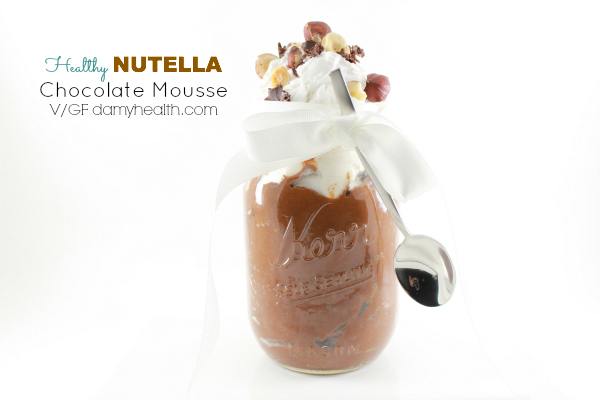 Healthy NUTELLA Chocolate Mousse