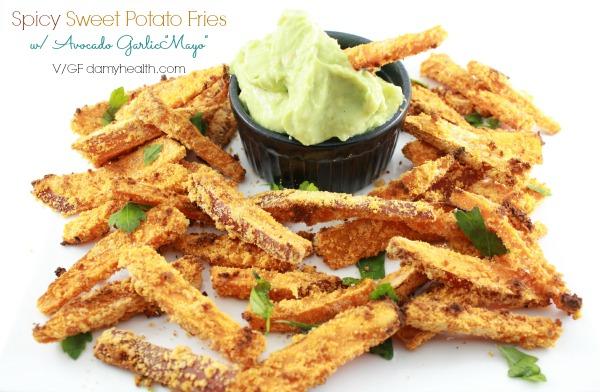 Healthy sweet potato fries1