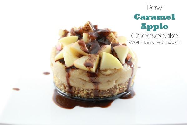 No-bake Caramel Apple Cheesecake1