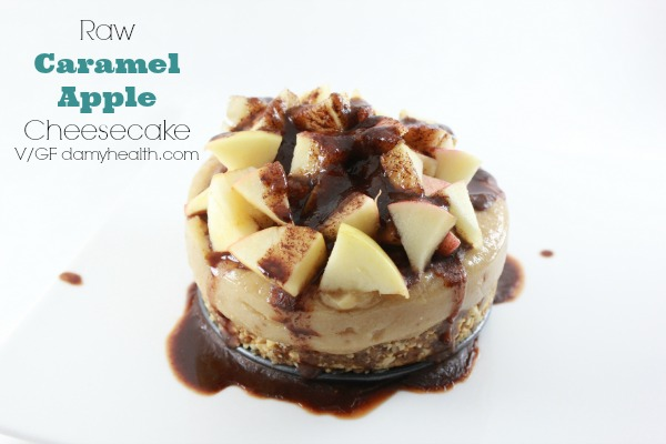 Raw Caramel Apple Cheesecake1