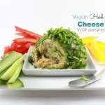 Vegan Herb & Garlic Cheese Ball