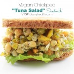 "Vegan Chickpea ""Tuna Salad"" Sandwich"