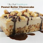 The Best Raw Vegan Peanut Butter Cheesecake