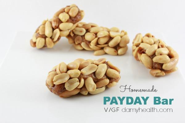 homemade vegan payday bar1