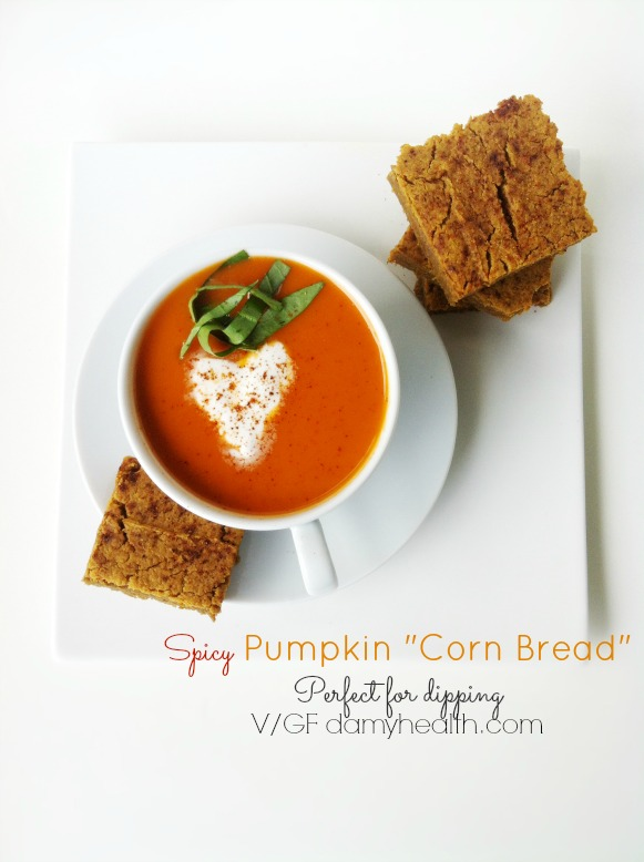 spicy chickpea pumpkin cornbread