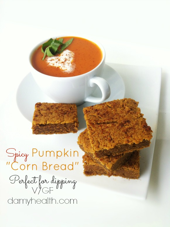 "Spicy Pumpkin ""Corn Bread"" (Perfect for dipping)"
