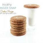 Healthy GINGER SNAP Cookie Recipe (Vegan)