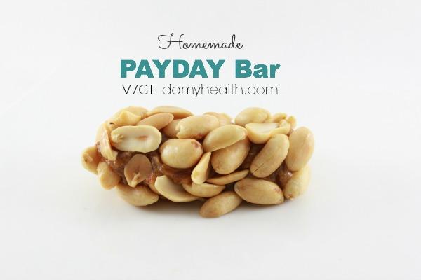 vegan payday bar