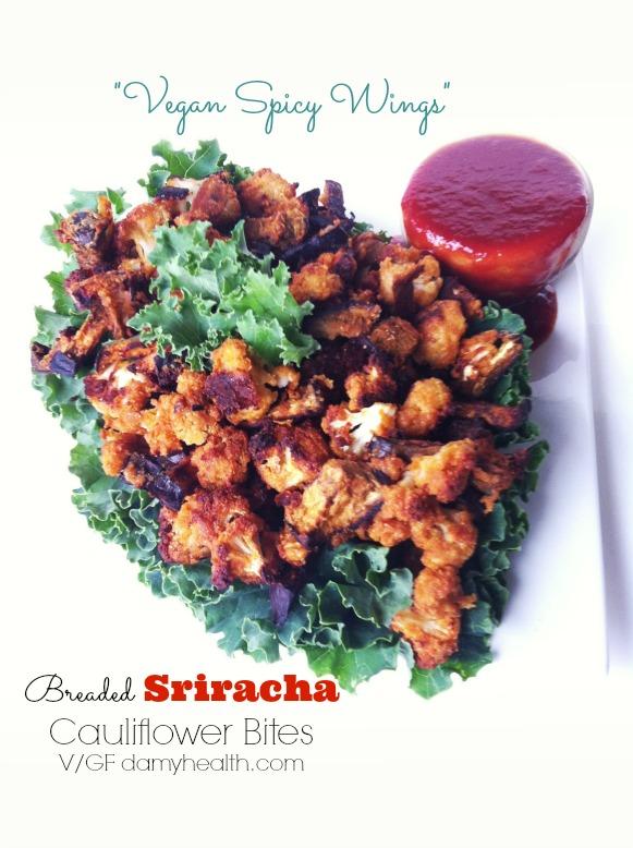 vegan spicy wings